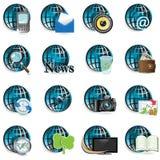Icon Globe Royalty Free Stock Photos