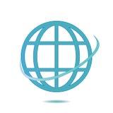 Icon globe. Stock Photos