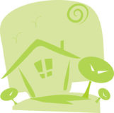 Icon for green concept Royalty Free Stock Image