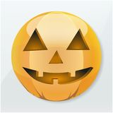 Icon Halloween pumpkin holiday Royalty Free Stock Photos