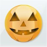 Icon Halloween pumpkin holiday Royalty Free Stock Photos