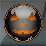Icon Halloween pumpkin holiday Stock Photo