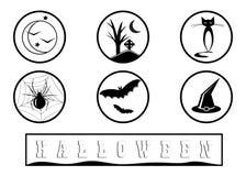 Icon Halloween. Royalty Free Stock Image