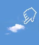 Icon hand select Stock Photos