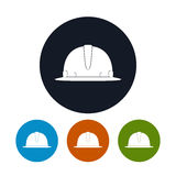 Icon Hard Hat Stock Images