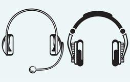 Icon headphones Royalty Free Stock Image