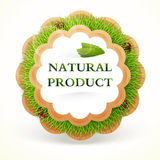 Icon for healing food. Natural product Stock Images