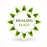 Icon for healing food Royalty Free Stock Photo