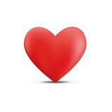 Icon heart. Vector icons of red hearts Stock Image