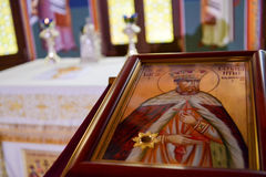 Icon holy church Royalty Free Stock Image