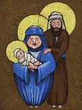 Icon holy family Stock Images