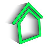 Icon home Stock Photography