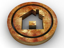 Icon home Stock Images