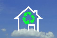 Icon house Royalty Free Stock Photography