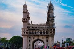 The icon of the hyderbad charminar royalty free stock image