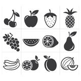 Icon icon fruit Stock Photography