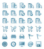 Icon illustrations Royalty Free Stock Photo