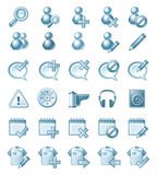 Icon illustrations Royalty Free Stock Image