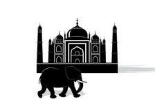 Icon India. Royalty Free Stock Photography
