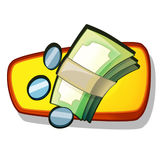 Icon - about internet - computer - business - shopping -illustration Royalty Free Stock Images