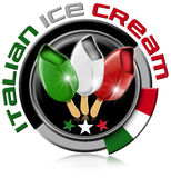 Icon Italian Ice Cream Royalty Free Stock Photo