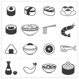 Icon japan food Stock Image
