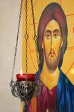 Icon of Jesus Christ Stock Photos