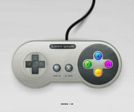 Icon  Joystick With Buttons. EPS10