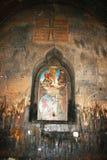 Icon in Khor Virap church stock image