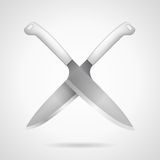 Icon for knives Stock Photos