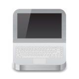 Icon for laptop Stock Photo