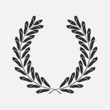 Icon laurel wreath Royalty Free Stock Image
