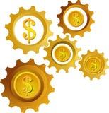 Icon / logo of money. Vector file Royalty Free Stock Photo