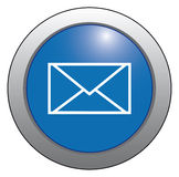 Icon-mail, the envelope. Royalty Free Stock Photography