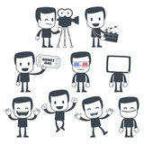 Icon man stock illustration