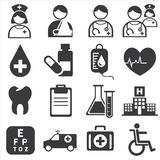 Icon medical Royalty Free Stock Image