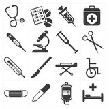 Icon medical Stock Photo