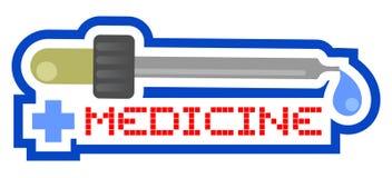 Icon medicine Stock Photo