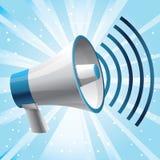 icon megaphone - communication concept Stock Photos
