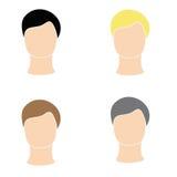 Icon men. Internet icon man on a white background Royalty Free Stock Photo