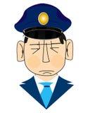 Icon men police Royalty Free Stock Photo