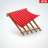 Icon Metal Cover on Roof Royalty Free Stock Images
