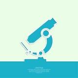 Icon microscope Stock Photos