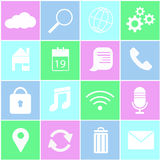 Icon for mobile internet. Device Stock Images