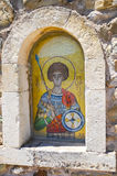 Icon in the Monastery of St. George Epanosifi Stock Photos