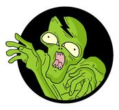 Icon monster Royalty Free Stock Image