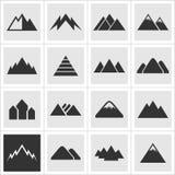 Icon of mountains2 Stock Photos