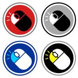 Icon mouse Royalty Free Stock Images