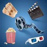 Icon movie Stock Photos
