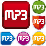 Icon MP3 Royalty Free Stock Image